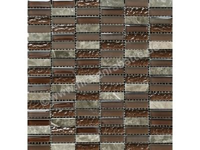 Ugo Collection Stone stone mix brown 30x30 cm STONE MIX BROWN