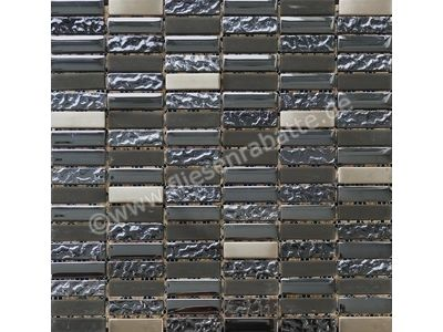 Ugo Collection Stone stone mix steel 30x30 cm STONE MIX STEEL | Bild 1