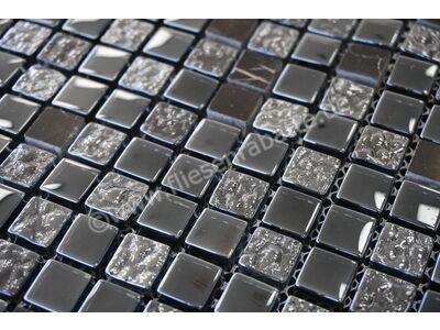 Ugo Collection Mosaik mix black 30x30 cm MIX BLACK   Bild 2