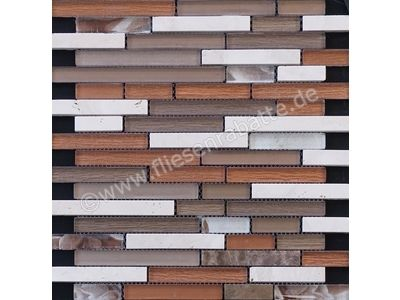 Ugo Collection Mosaik meuse brown multiple st 27.5x30 cm MEUSE BROWN MULTIPLE ST | Bild 1