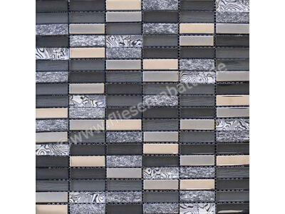 Ugo Collection Mosaik meuse black multiple 30x30 cm MEUSE BLACK MULTIPLE | Bild 1