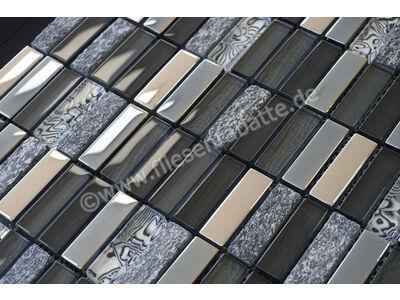 Ugo Collection Mosaik meuse black multiple 30x30 cm MEUSE BLACK MULTIPLE | Bild 2