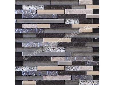 Ugo Collection Mosaik meuse black multiple st 27.5x30 cm MEUSE BLACK MULTIPLE ST   Bild 1