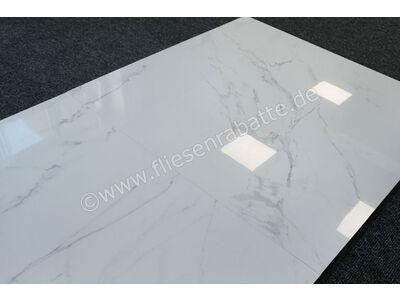 Enmon Statuario Statuario marmoriert 100x100 cm AC90003 | Bild 8