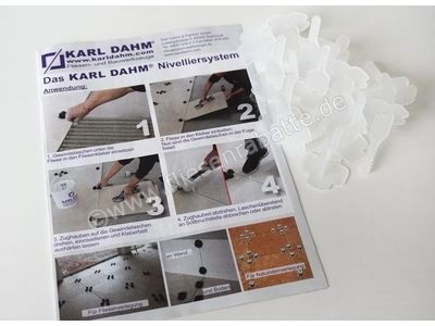 Karl Dahm Levelmac Nivelliersystem Basis-Gewindelaschen 12454   Bild 3