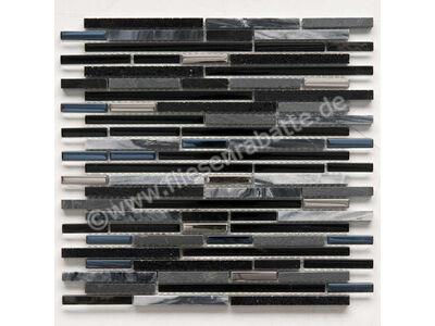 Ugo Collection Mosaik quartz black 30x30 cm QUARTZ BLACK | Bild 1