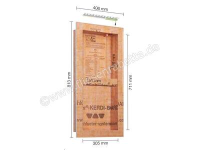 Schlüter KERDI-BOARD-NLT Nische und Ablagefläche für Wandbereiche mit Beleuchtung KB12NLTP3AE9 | Bild 1