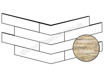 ceramicvision Brickup beige 16x40 cm CVBKPA41   Bild 1