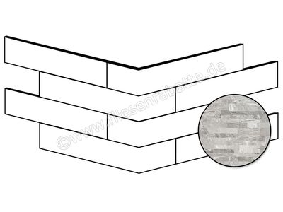 ceramicvision Brickup ocean grey 16x40 cm CVBKPA11 | Bild 1