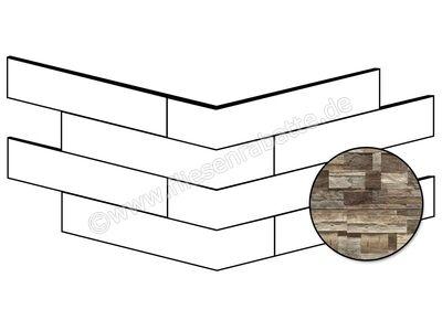 ceramicvision Brickup dark wood 25x49 cm CVBKPA32 | Bild 1