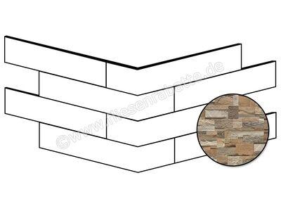 ceramicvision Brickup street light wood 25x49 cm CVBKPA22   Bild 1