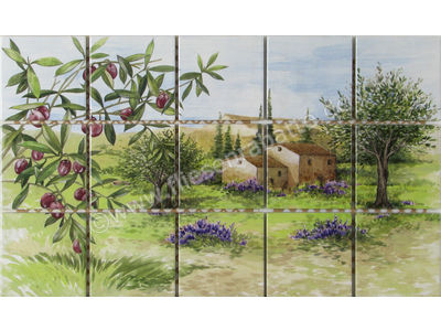 Jasba Terrano mehrfarbig 30x50 cm 5995