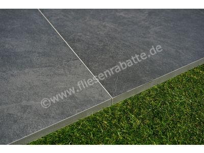 ceramicvision Interior Stone Outdoor nero 60x60 cm IntStone TPN6060   Bild 5