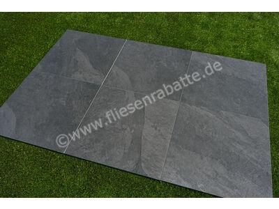 ceramicvision Interior Stone Outdoor nero 60x60 cm IntStone TPN6060   Bild 7