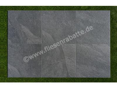 ceramicvision Interior Stone Outdoor nero 60x60 cm IntStone TPN6060   Bild 8