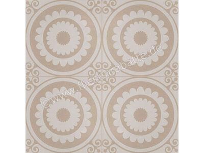Klingenberg Antique bourgogne beige 20x20 cm KB50229 | Bild 2