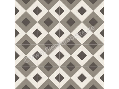 Marazzi D_Segni chalk mud midnight sand 20x20 cm M0UP | Bild 3