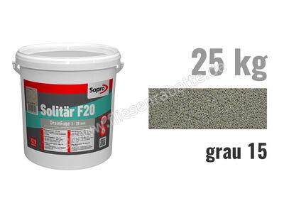 Sopro Bauchemie Solitär F20 Pflasterfugenmörtel 1033-25 | Bild 1