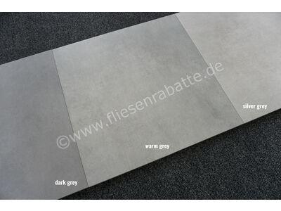 Villeroy & Boch Memphis OUTDOOR 20 silver grey 60x60 cm 2863 MT06 0 | Bild 3