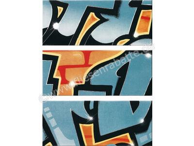 Steuler Graffiti petrolorange 33x80 cm 33011