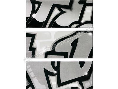 Steuler Graffiti schwarz-weiß 33x80 cm 33013