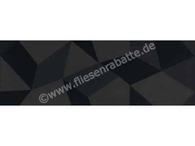 Villeroy & Boch Bianconero schwarz 30x90 cm 1310 BW92 0