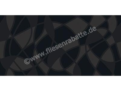 Villeroy & Boch Bianconero schwarz 30x60 cm 1581 BW98 0