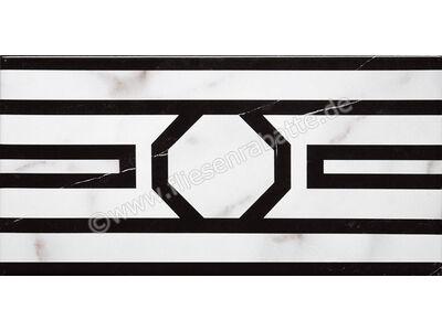 Villeroy & Boch New Tradition bianco nero 15x30 cm 1772 ML06 0