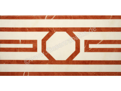 Villeroy & Boch New Tradition crema rosso 15x30 cm 1772 ML36 0