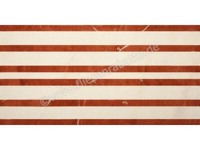 Villeroy & Boch New Tradition crema rosso 15x30 cm 1772 ML37 0