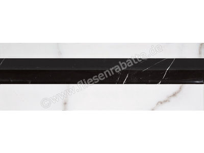 Villeroy & Boch New Tradition bianco nero 10x30 cm 1420 ML08 0