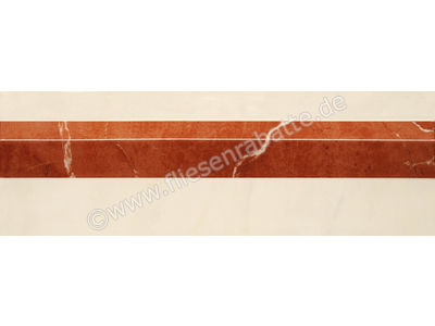 Villeroy & Boch New Tradition crema rosso 10x30 cm 1420 ML38 0