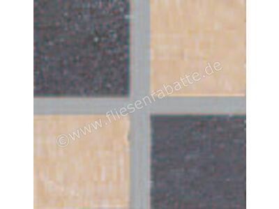 Villeroy & Boch Bernina beige anthrazit 5x5 cm 2399 RT10 0