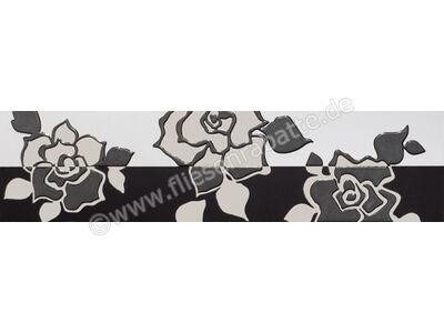 Villeroy & Boch Melrose weiß schwarz 15x60 cm 1895 NW65 0