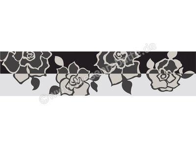 Villeroy & Boch Melrose weiß schwarz 7x30 cm 1896 NW65 0