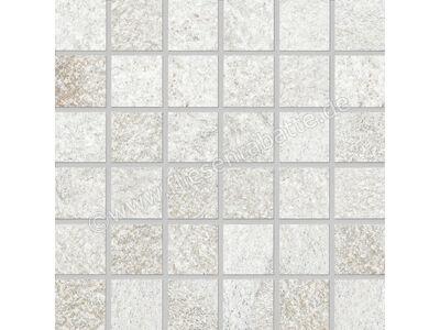 Agrob Buchtal Quarzit weißgrau 5x5 cm 8464-7161H