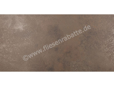 Ariostea Ultra Metal brown zinc 37.5x75 cm UMT6S37500