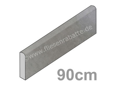 Emil Ceramica On Square cemento 7.2x90 cm 943B8P-90