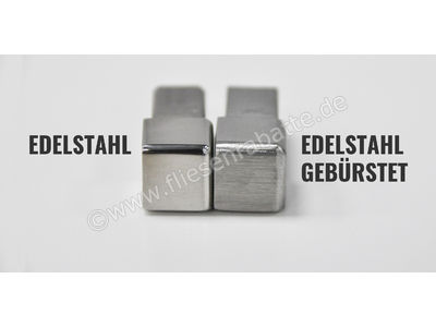 Profischiene Quadrat-E Innen- und Aussenecke ECKE-FEQ-S125 | Bild 2