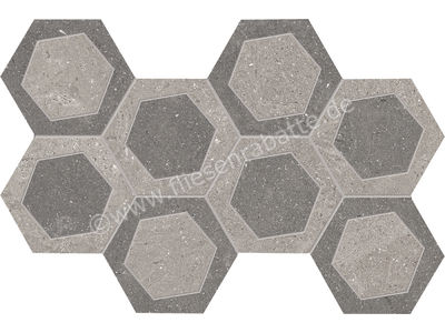 Emil Ceramica Milestone grey-dark grey 19.6x34.2 cm R304Z8R