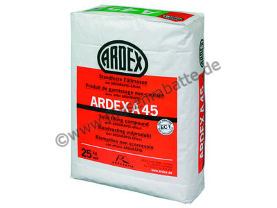 Ardex A 45 Standfeste Füllmasse 53110