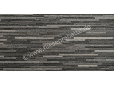 Kronos Ceramiche Rocks mix dark 15x60 cm KRO7465