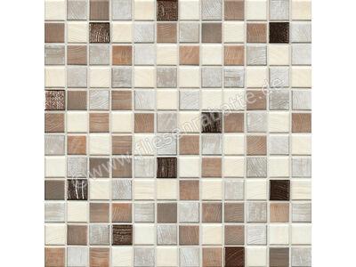Jasba Senja Pure wood-mix metallic 2x2 cm 3306 | Bild 1