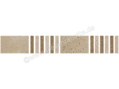 Bärwolf Sticks & Squares cream beige 3.05x3.05 cm BO-10010 | Bild 1