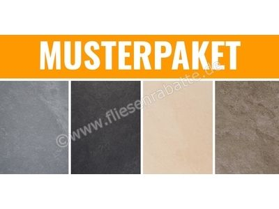 ceramicvision Slate grigio nero sand tortora 30x30 cm MPSlate   Bild 1
