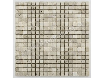 Bärwolf Square cream beige 0.15x0.15 cm AM-0003 | Bild 1