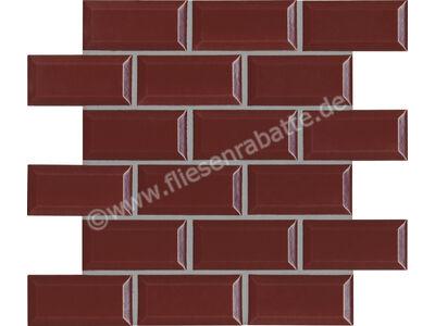Agrob Buchtal District burgundy red 5x10 cm 45557H | Bild 1