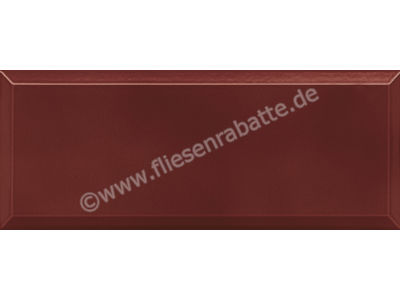 Agrob Buchtal District burgundy red 10x25 cm 45607H