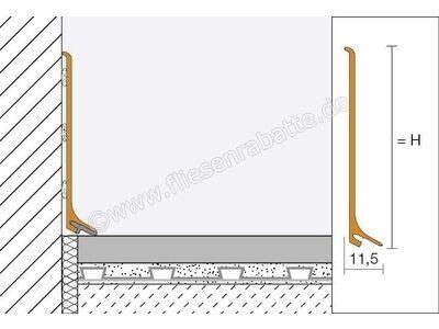 Schlüter DESIGNBASE-SL-MBW Sockelprofil DBSL80MBW | Bild 2
