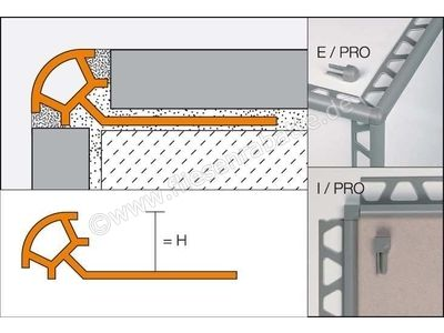 Schlüter RONDEC-PRO Außenecke E/PRO80NB | Bild 1